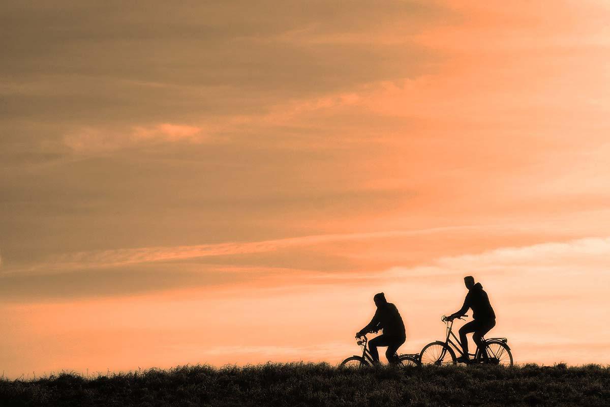 andare in bicicletta fa bene