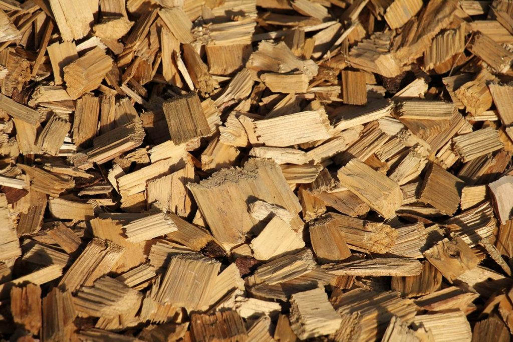 cippato rami ramaglie legno