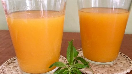 estratto susine carote limone erba cedrina