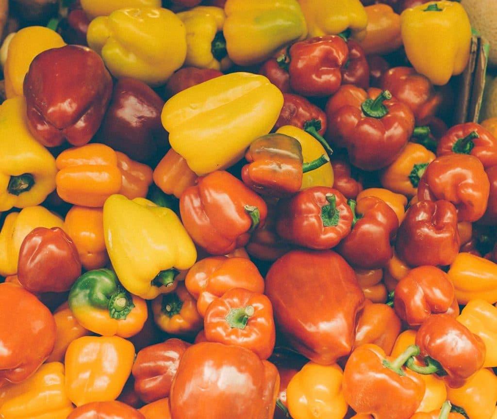 peperoni rossi gialli