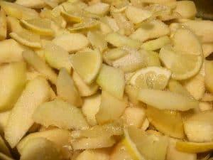 pere trentossi ricetta mostarda