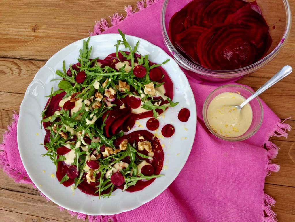 ricetta barbabietole bio vegan