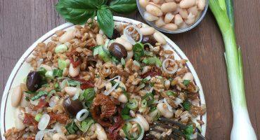 ricetta farro mediterranea