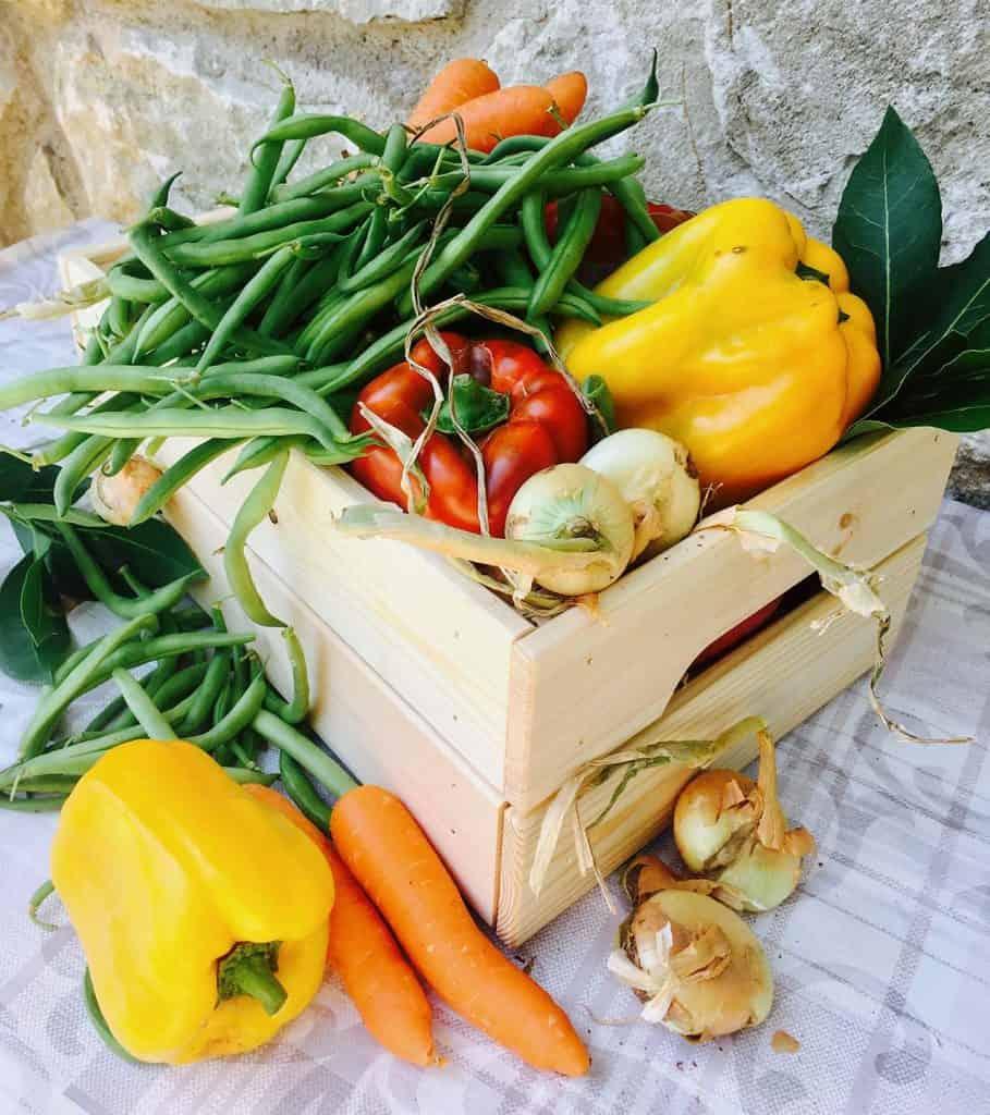 ricetta giardiniera verdure