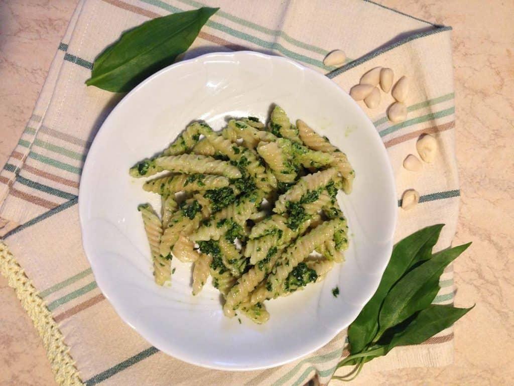 ricetta pesto aglio orsino